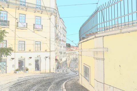 Scenic Lisbon