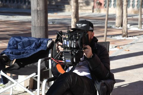 Director at work