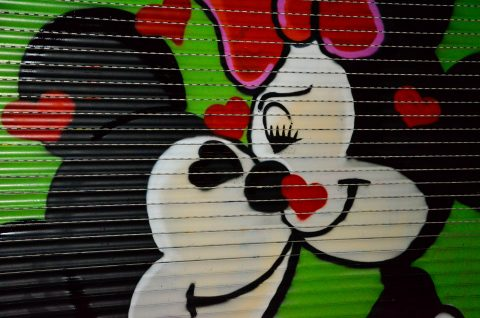 Mickey's kiss