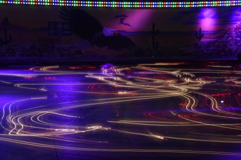Bumper car lights